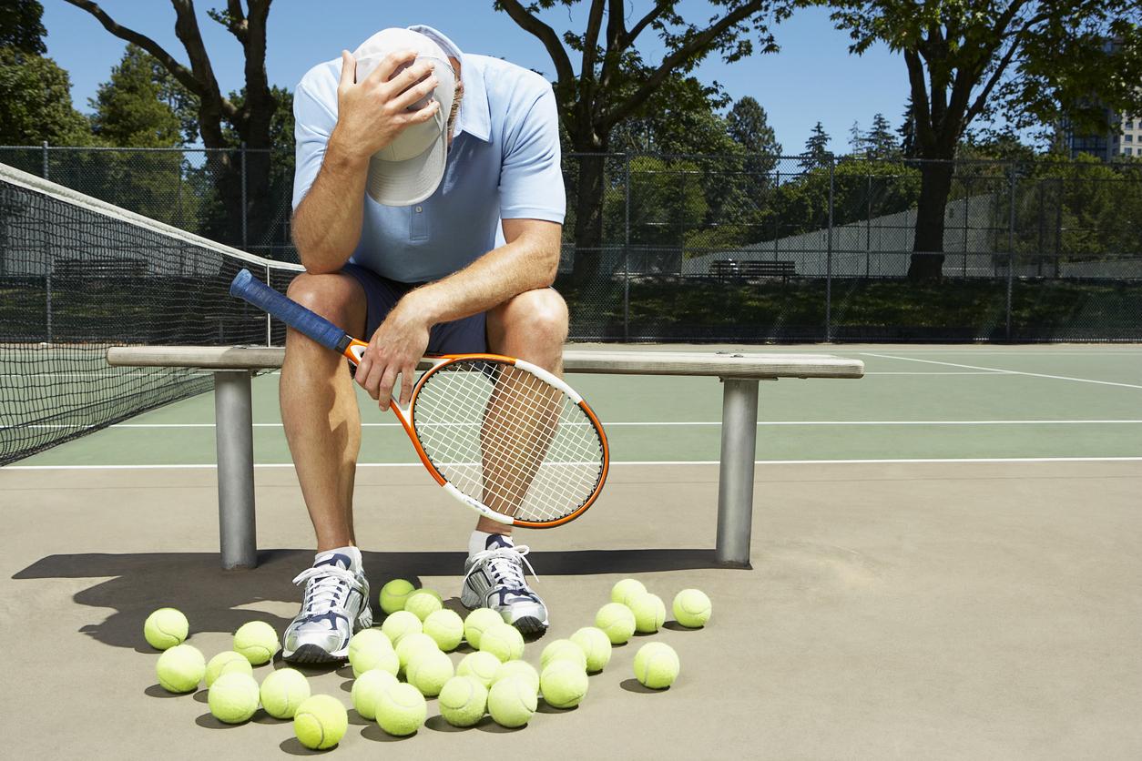 used playmate tennis machine