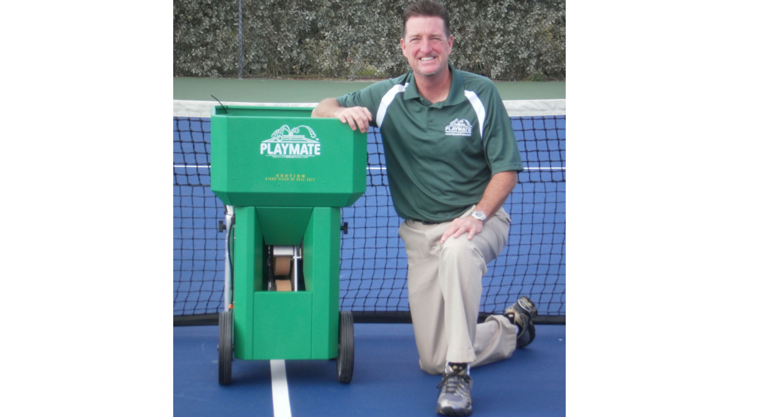 Playmate Tennis Dealers: STAN OLEY'S TENNIS EQUIPMENT SALES AND SERVICE INC.