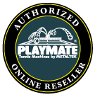 Playmate tennis AUTHORIZED ONLINE LOGO