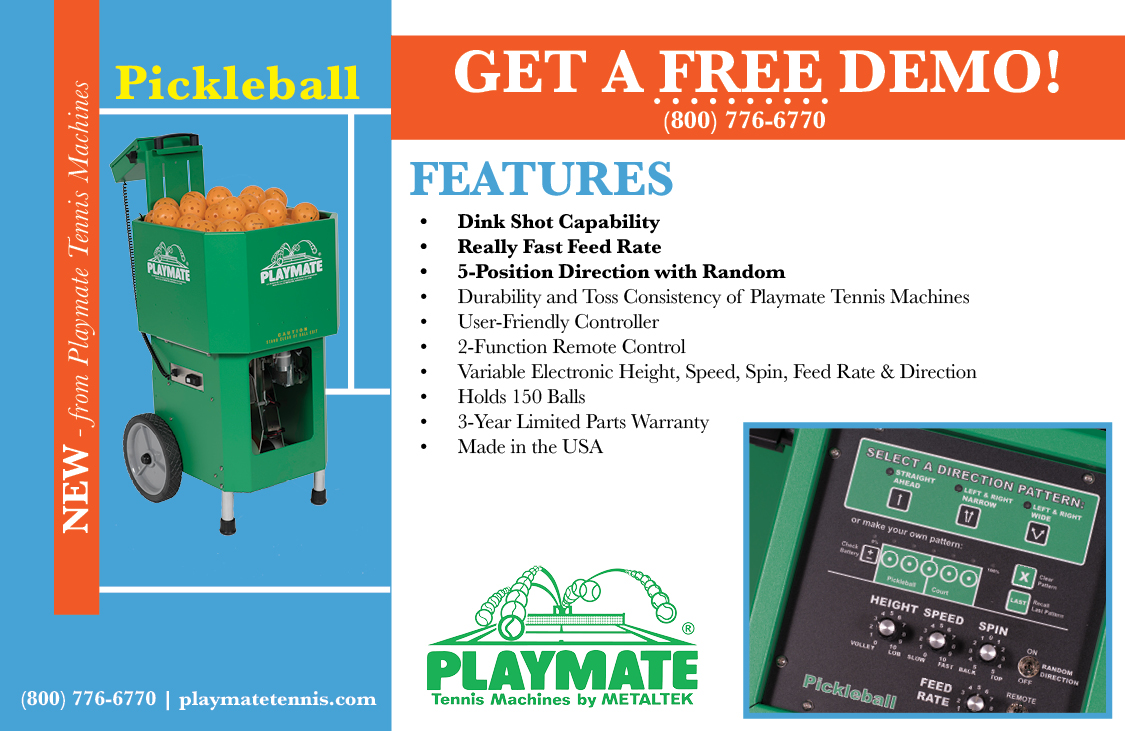 Playmate Pickleball Commercial Machine